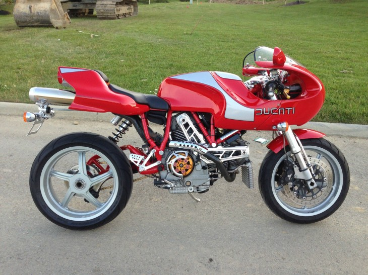 Supply vs Demand: FOUR Ducati MH900e examples for sale!