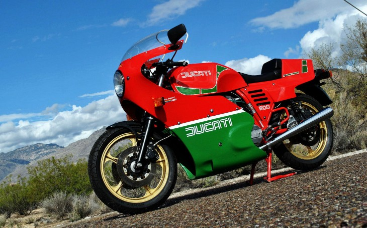 Hail Hail: 1983 Ducati Mike Hailwood (MHR) in AZ