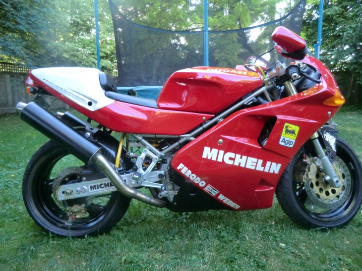 1993 Ducati 888 SPO with 712 Miles available in British Columbia