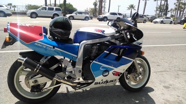 1989 Suzuki GSX-R750RK (aka the RR) in California