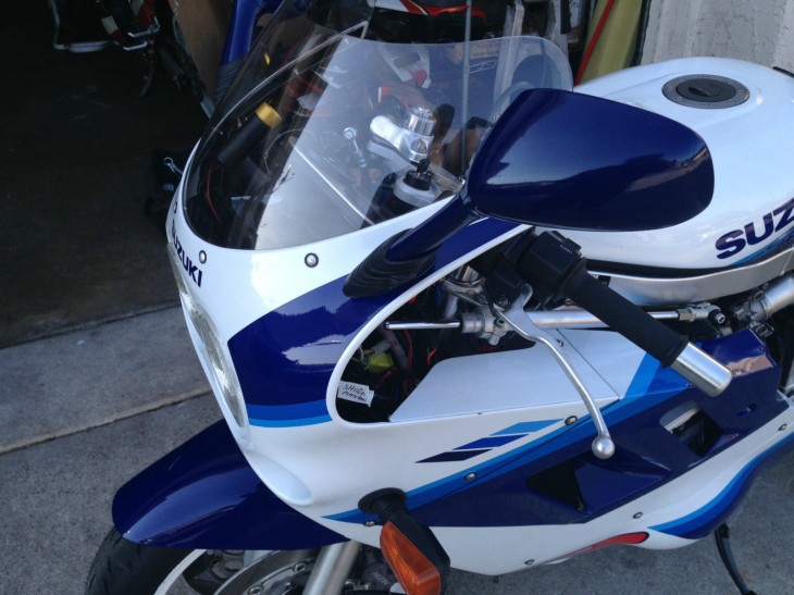 1990 Suzuki GSXR 1100 L Side Fairing2