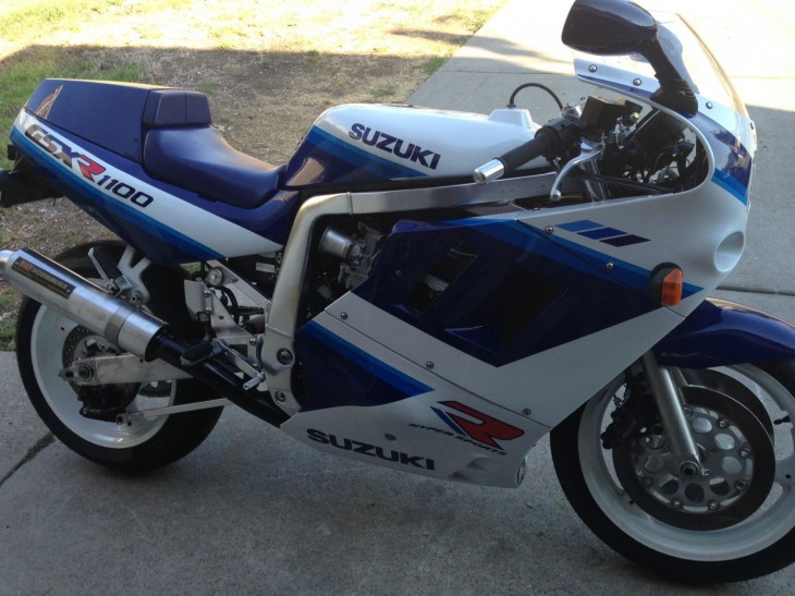 Thuggish Survivor: 1990 GSX-R 1100 for Sale