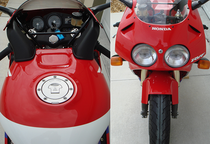 1994 RC45 Front Rear