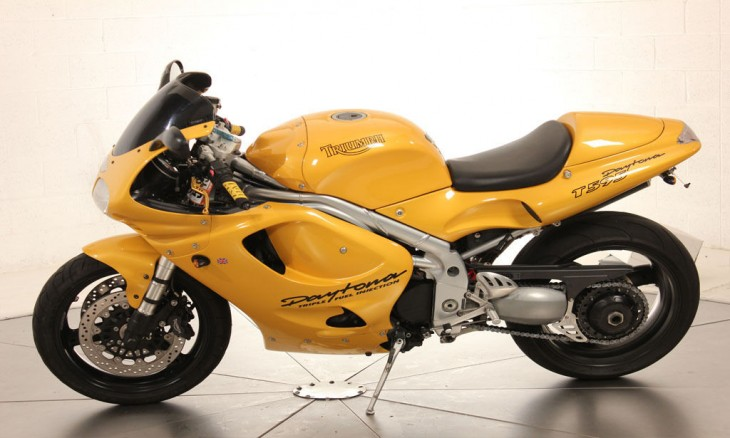 1997 Triumph Daytona L Side