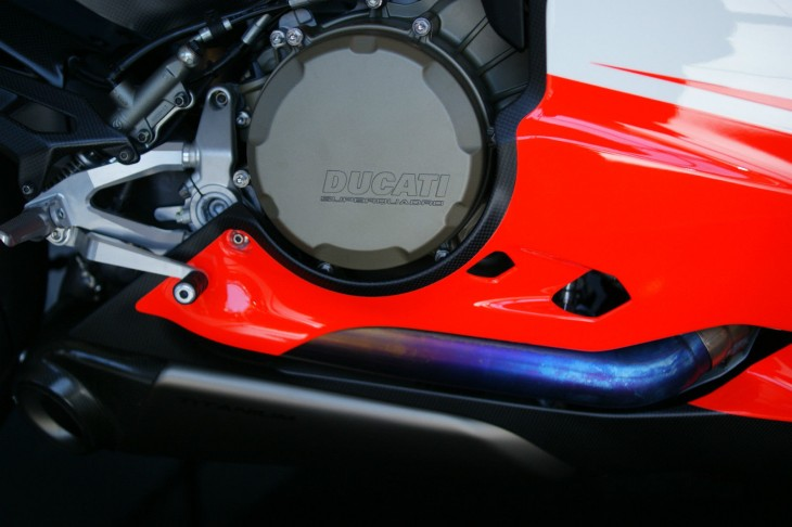2014 Ducati Panigale Superleggera Clutch Cover