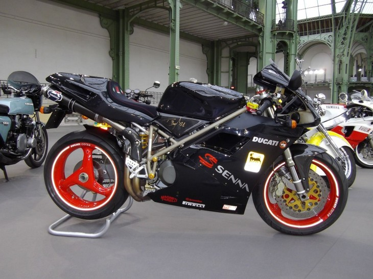 The Price of Fame: 1998 Ducati 916 Senna Edition
