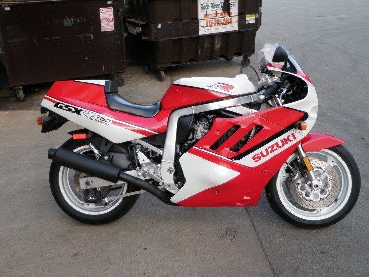8>enough:  1988 Slingshot GSXR 750