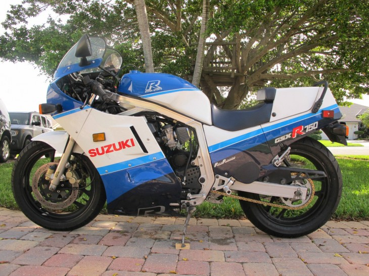 Slab-Sided Survivor: 1987 Suzuki GSX-R 750 for Sale