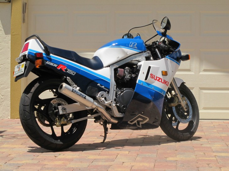 1987 Suzuki GSX-R 750 R Side Rear