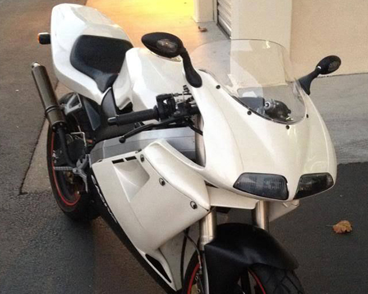 Unicorn Sighting: 1995 Cagiva Mito with Cali Title for Sale