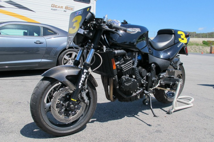1995 Triumph Speed Triple Challenge Replica L Front