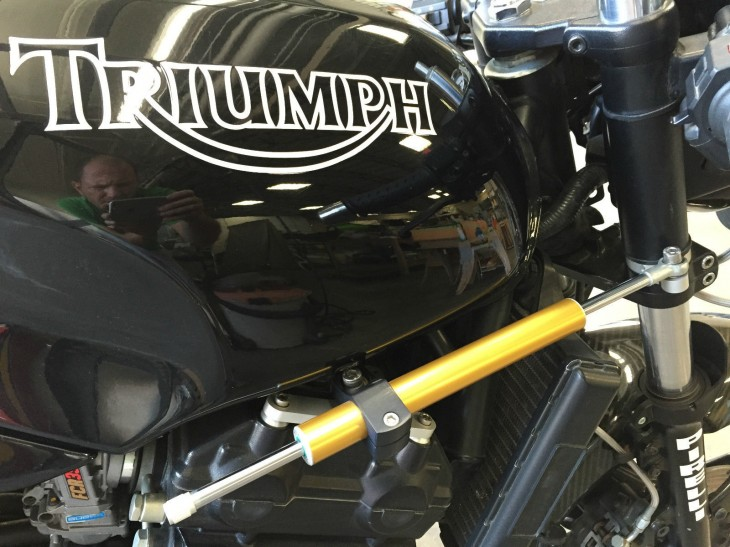 1995 Triumph Speed Triple Challenge Replica R Tank