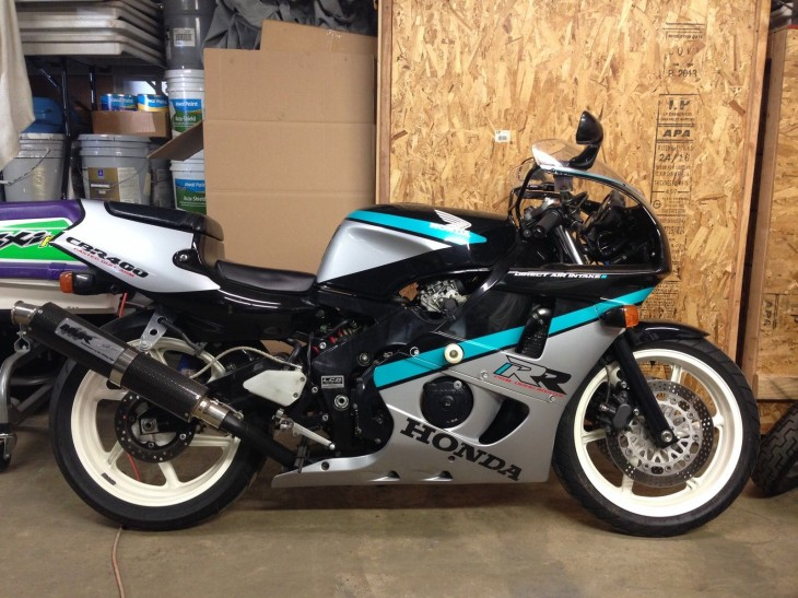 1993 Honda cbr400rr for sale