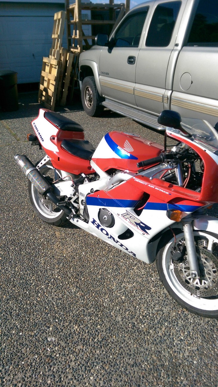 Just add TLC: 1990 Honda CBR400RR in Canada