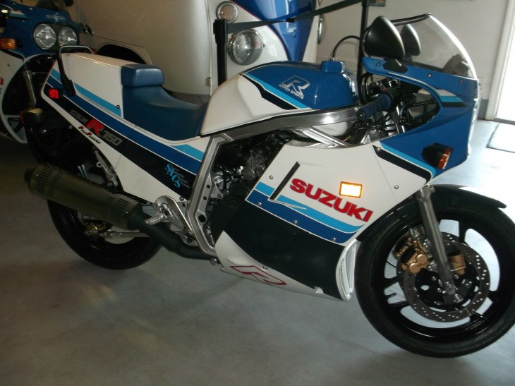 On the Slab: 1986 GSX-R 750