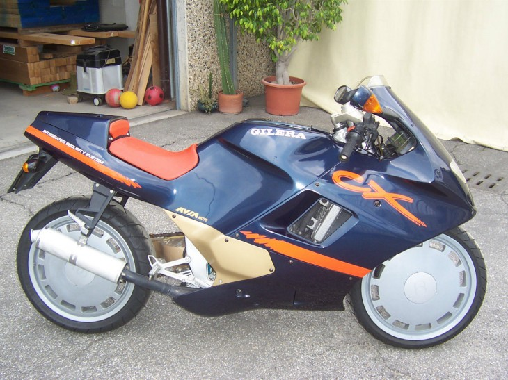 I want it:  Stock Gilera CX 125 in NorthWest Italy