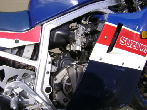 1986 GSX-R750 LE R Engine Dry Clutch