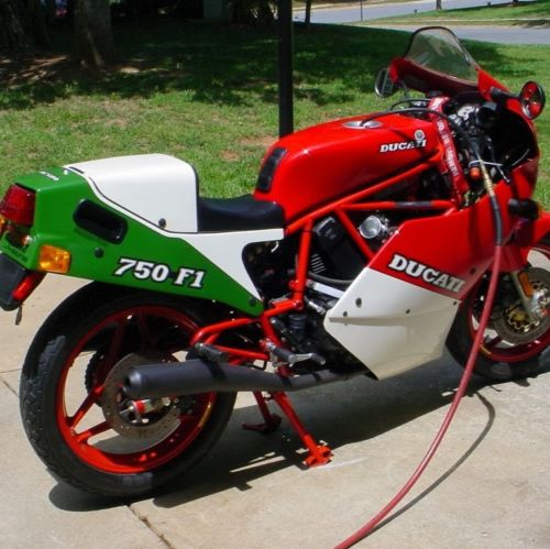 Low-Mileage Italian: 1988 Ducati 750 F1 for Sale