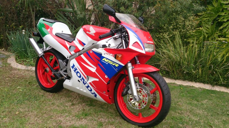 South African Smoker: 1996 Honda NSR 250 SE MC28
