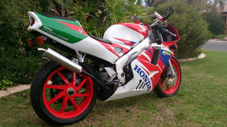 1996 Honda NSR250R R Side Rear
