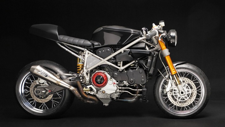 Pared Down to Perfection: 2003 Ducati 999VX by Venier Customs