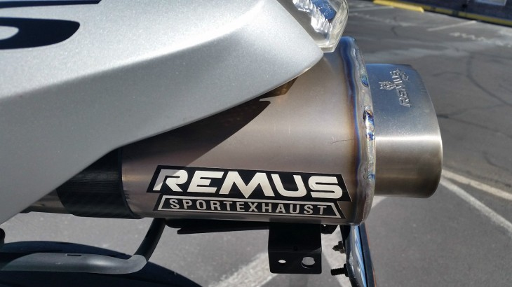 2007 BMW R1200S Exhaust