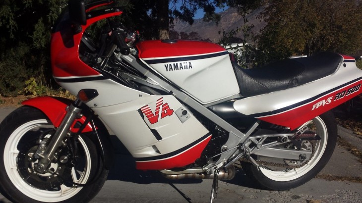 Bring on the smoke: 1984 Yamaha RD 500 LC in Utah