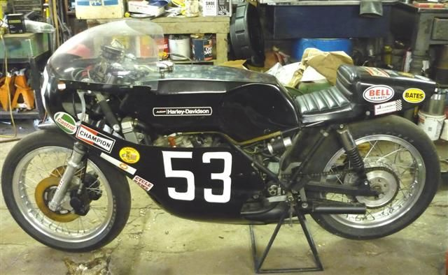 Mutually Exclusive?  1975 Harley Davidson RR250 Racer