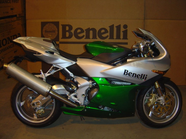 Flashy and Green:  2005 Benelli Tornado Tre