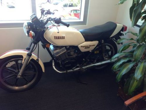 Yamaha RD400 for sale with 8 miles