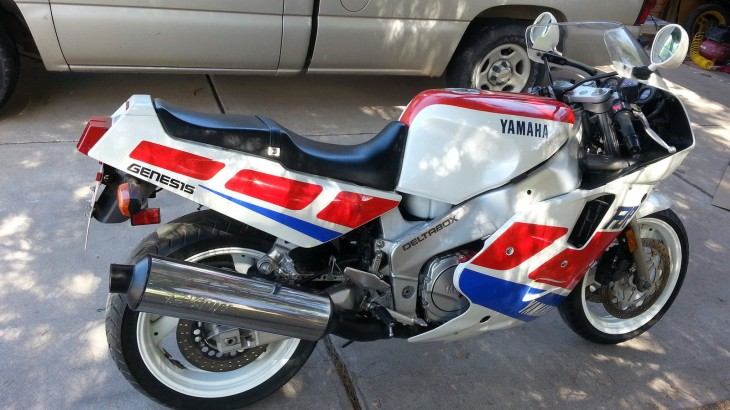 1989 FZR1000 for sale