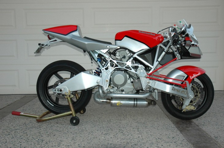 Middle Child:  2006 Bimota Tesi 2-D in California