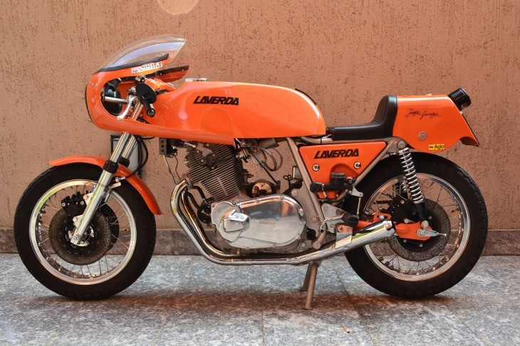 1975 Laverda SFC L Side