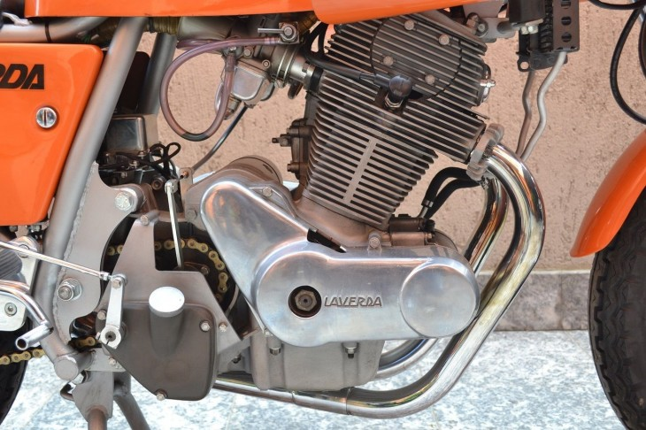 1975 Laverda SFC R Side Engine