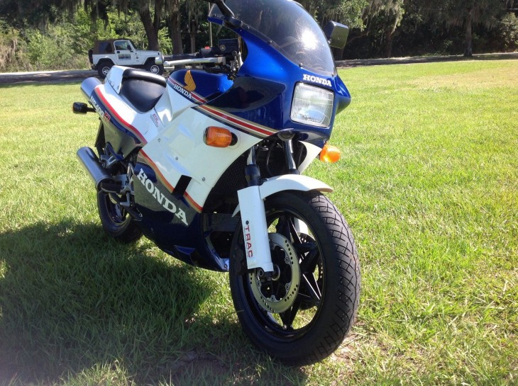 1985 Honda NS400R R Side Front