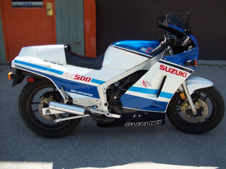 1986 Suzuki RG500 Gamma available in Nova Scotia