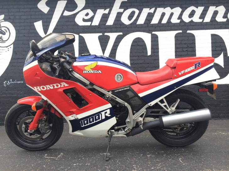 1985 Honda VF1000R L Side