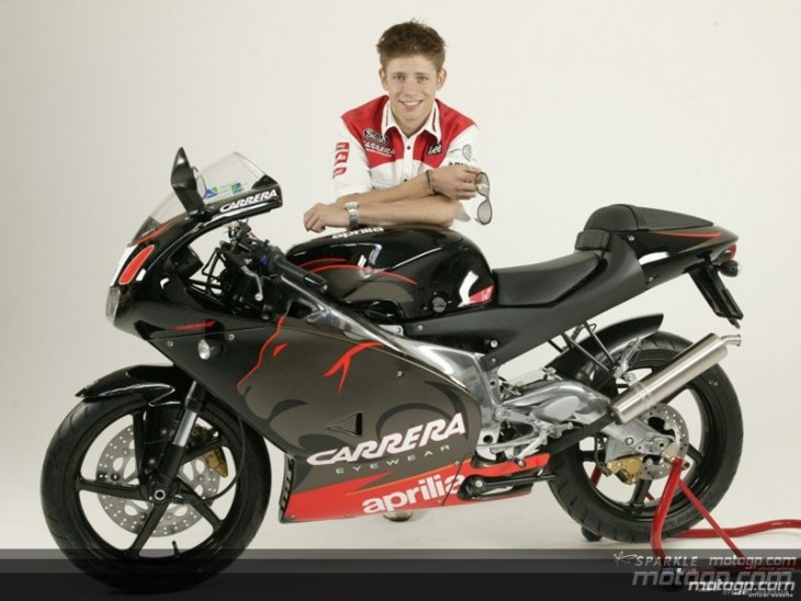 1 of 27 Made:  2005 Aprilia RS125 Casey Stoner Replica