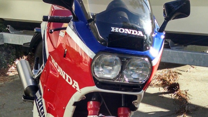 1985 Honda VF1000R Nose