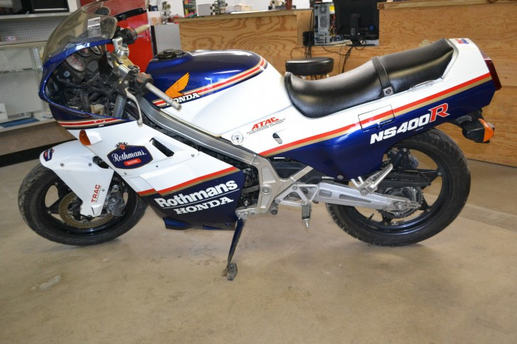 1986 Honda NS400R R Side