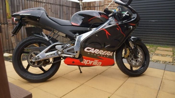 Aprilia RS125 Casey Stoner Replica for sale