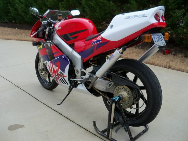 Honda NSR250 L Side Rear