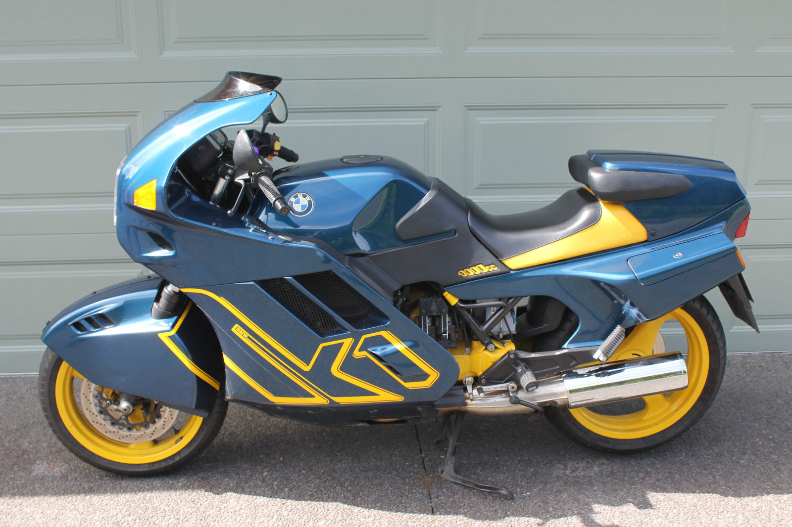 Does the K stand for Kiwi? 1990 BMW K1 - Rare SportBikes For Sale