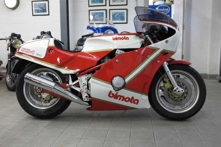 Hand-Built Italian Style: 1983 Bimota SB4 for Sale