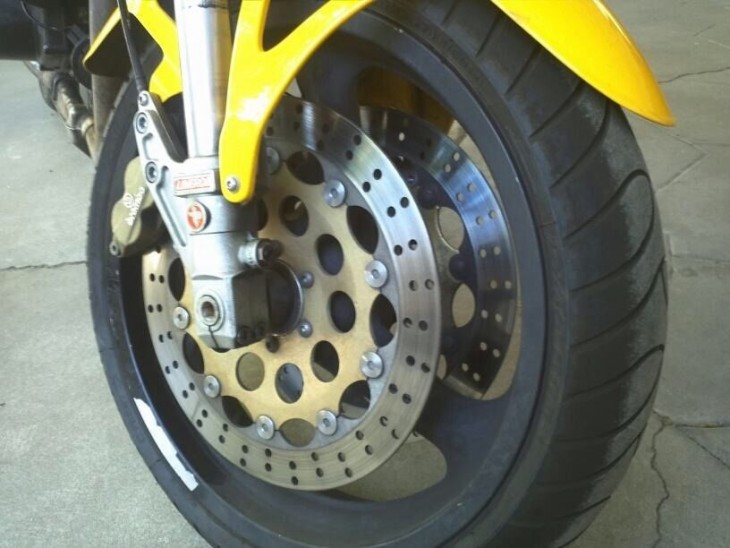 1998 Laverda Ghost Strike Front Wheel