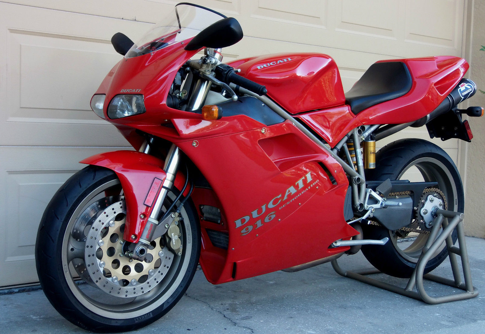 featured listing very early production 1995 ducati 916 monoposto varese rare sportbikes for. Black Bedroom Furniture Sets. Home Design Ideas