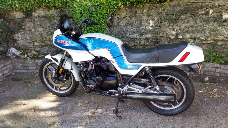 1983 Suzuki GS1100ES L Side No Fairing