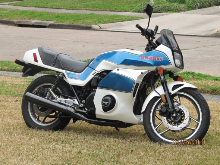 1983 Suzuki GS1100ES R Side