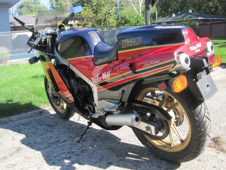 1986 Suzuki RG500 Walter Wolf L Side Rear