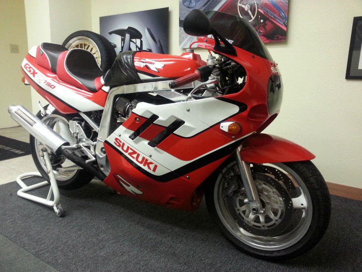 Slingshot Gixxer: 1989 Suzuki GSX-R750 for Sale